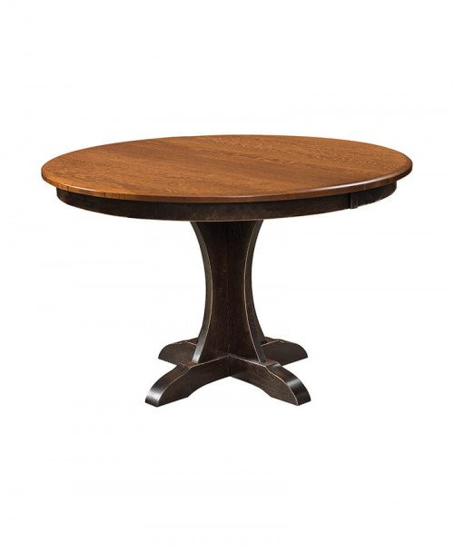 Amish Ellis Single Pedestal Table
