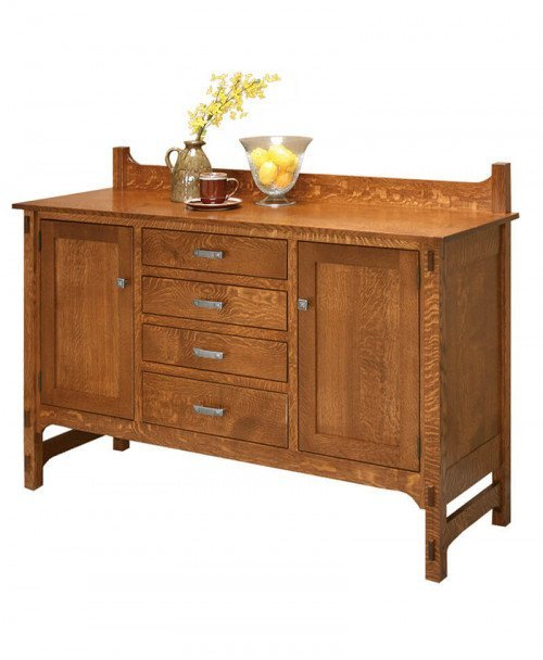Amish Glenwood 4-Drawer Sideboard