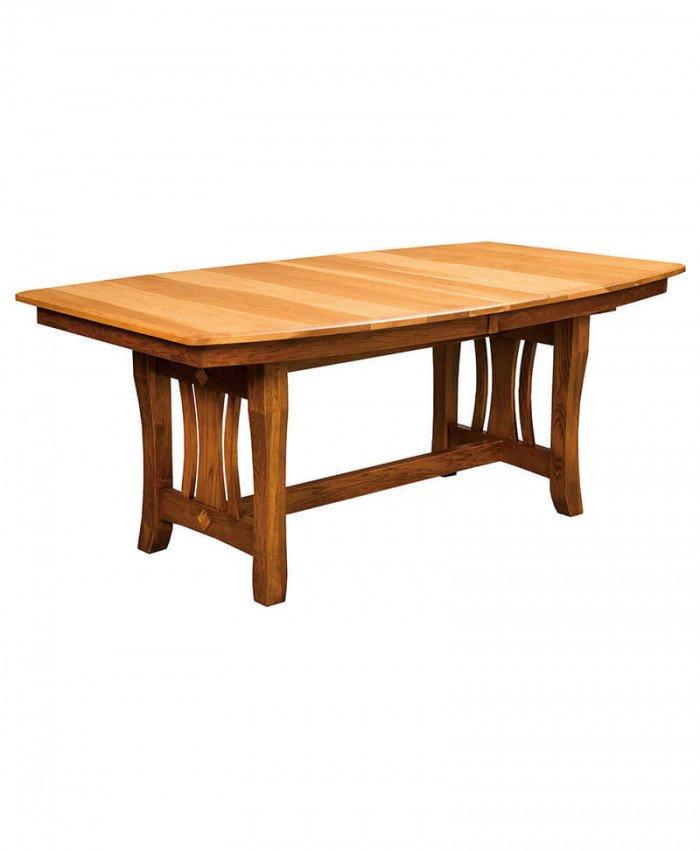 Amish Hearthside Trestle Table