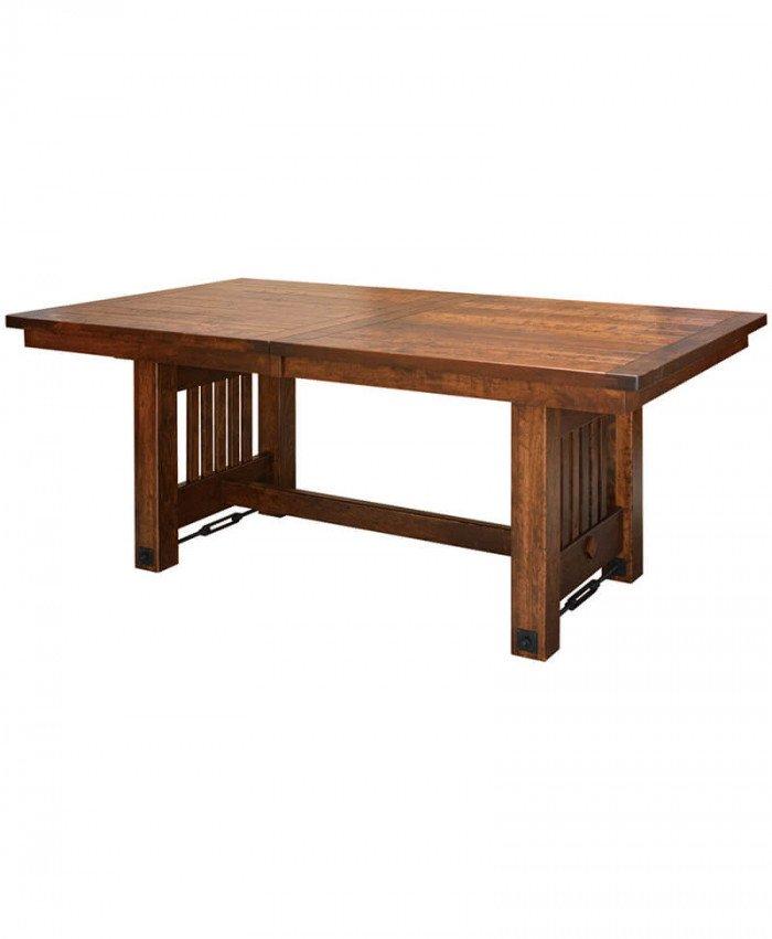 Amish Jordan Trestle Table