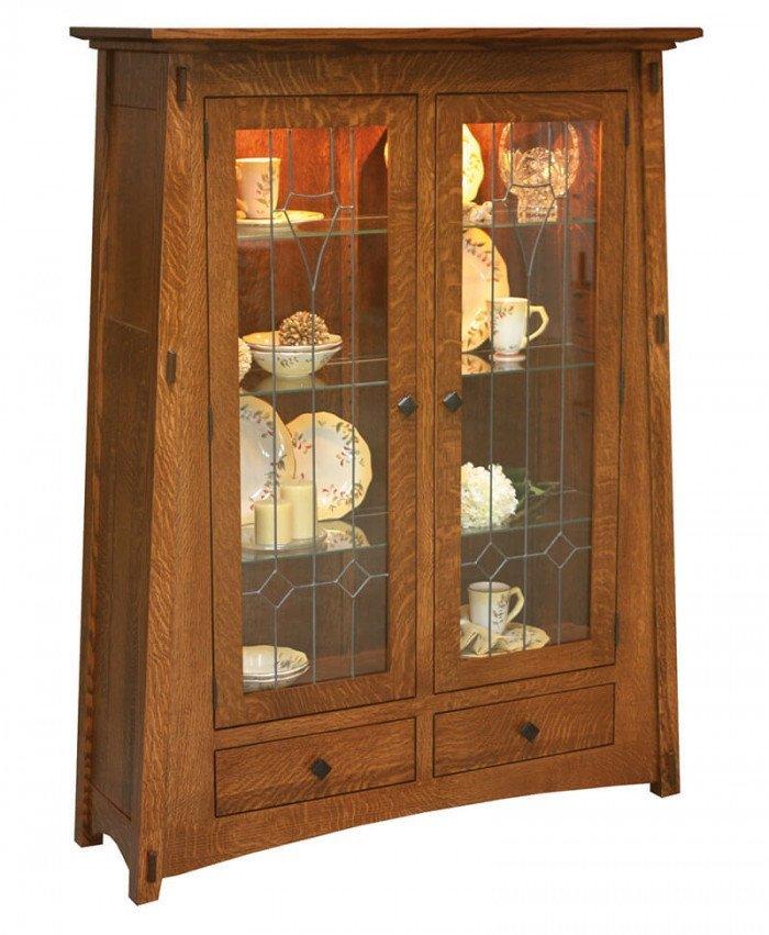 Amish McCoy Curio Cabinet