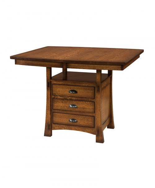 Amish Modesto Cabinet Table