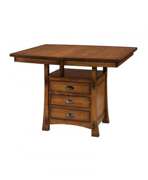 Amish Modesto Cabinet Table