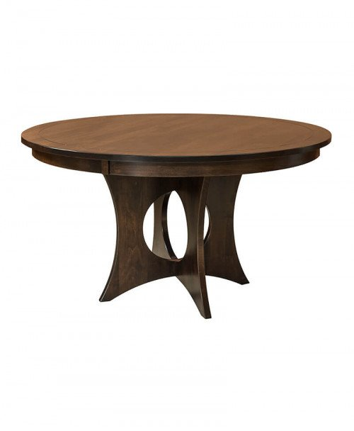 Amish Silverton Single Pedestal Table