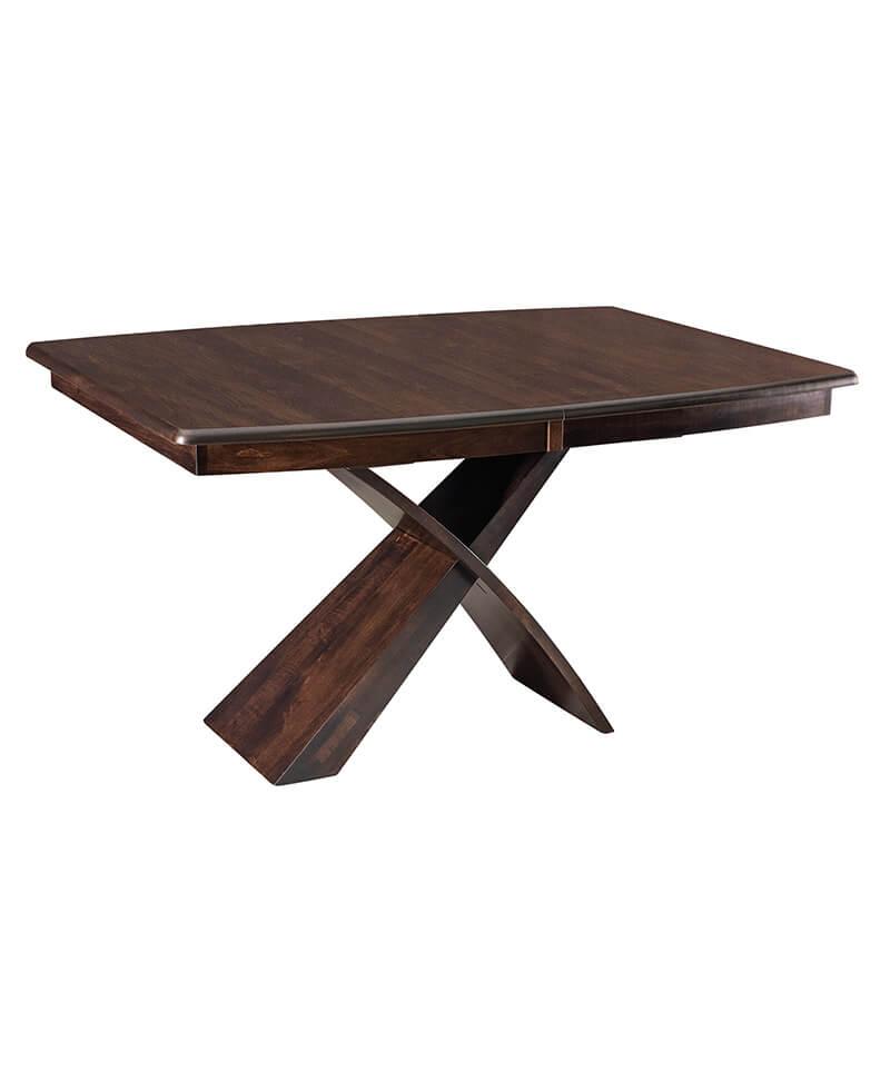 Amish Xantera Single Pedestal Table