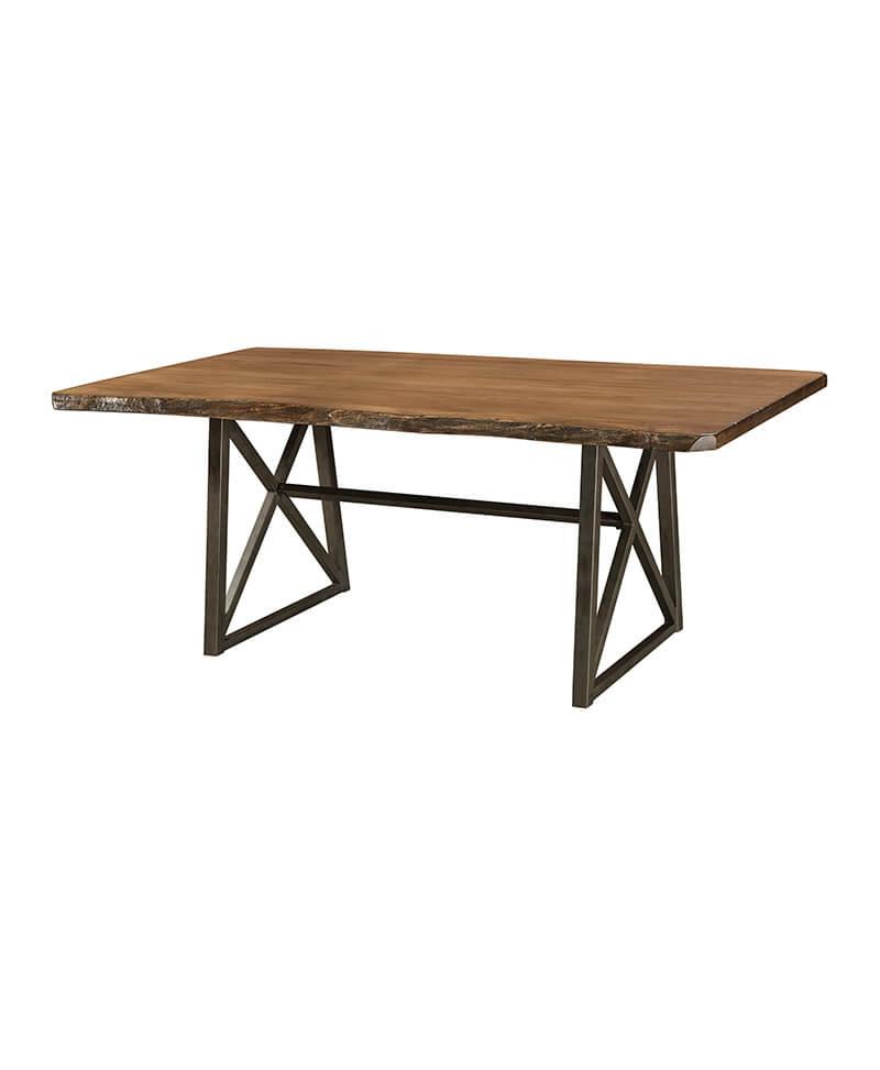 Amish Yukon Trestle Table