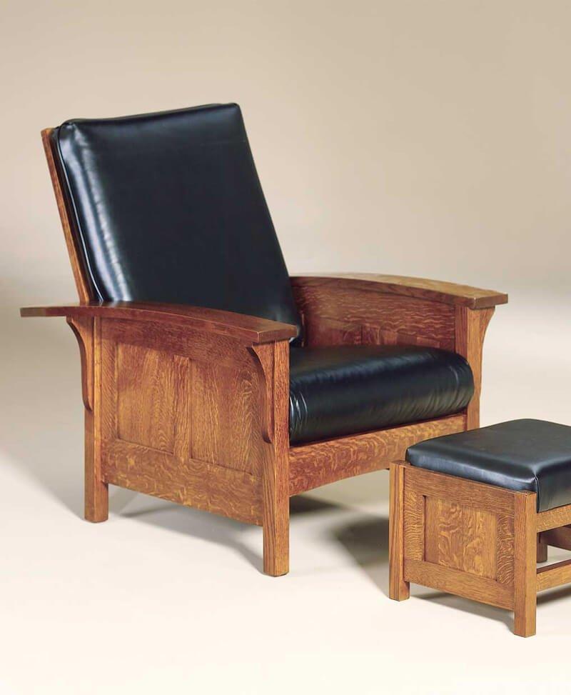 Amish Capri Panel Morris Chair