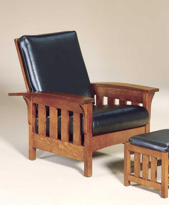 Amish Capri Slat Morris Chair