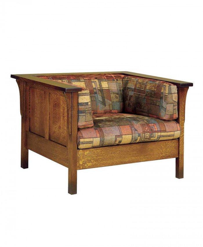 Amish Dixon Panel Chair