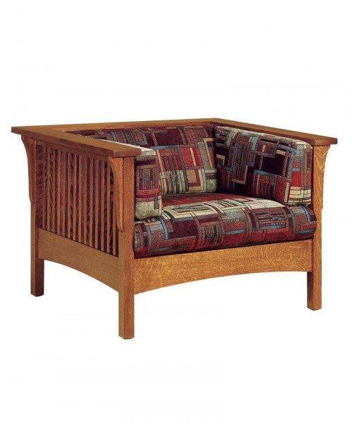 Amish Dixon Slat Chair