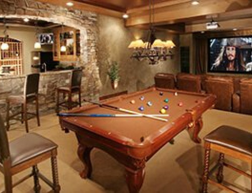 Creating Your Man Cave or Bonus Room