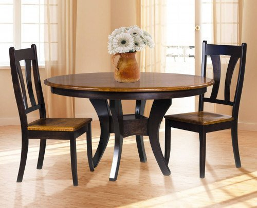 Amish 3 Piece Galveston Dining Room Set