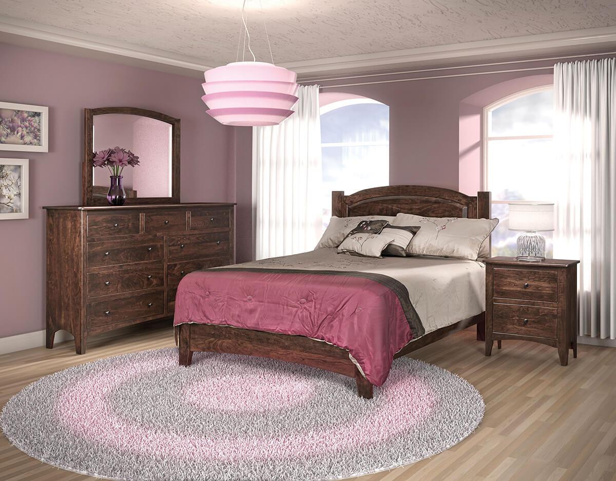 Danville Amish 4-Piece Bedroom Set