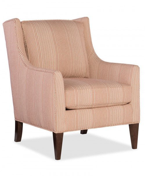 Hand Over Heart Club Chair