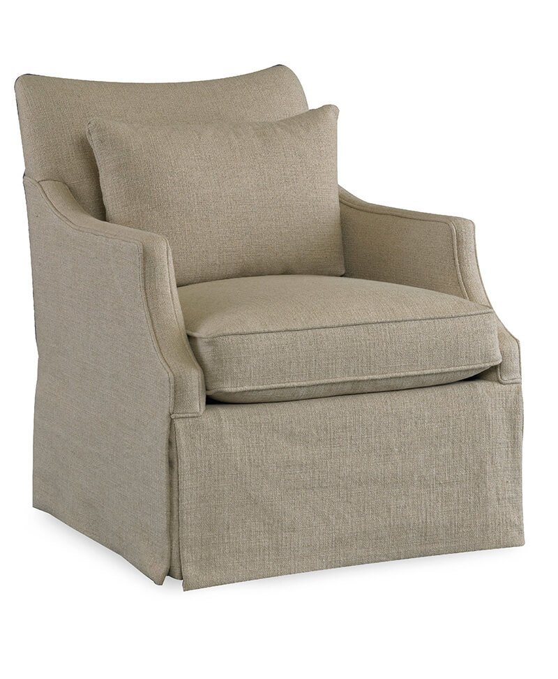 Azriel Skirted Club Chair