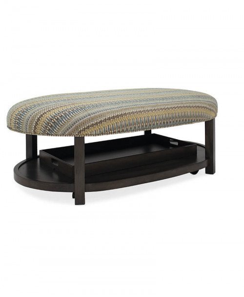 Haven Oval Non-Tufted Ottoman