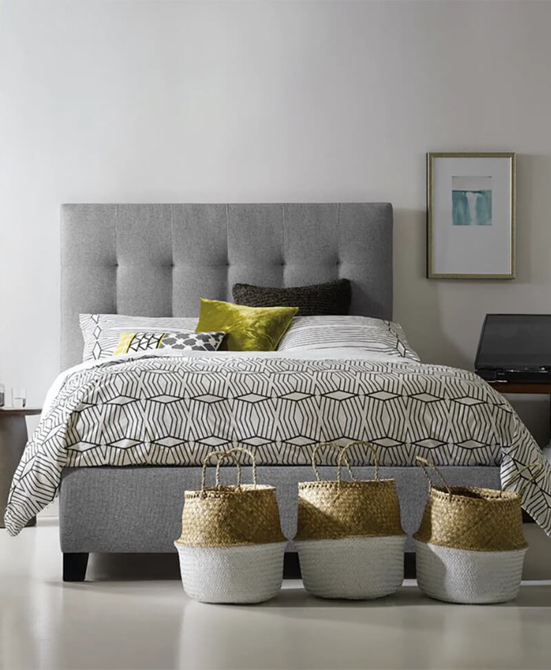 Nest Theory Martin 52in Queen Upholstered Bed