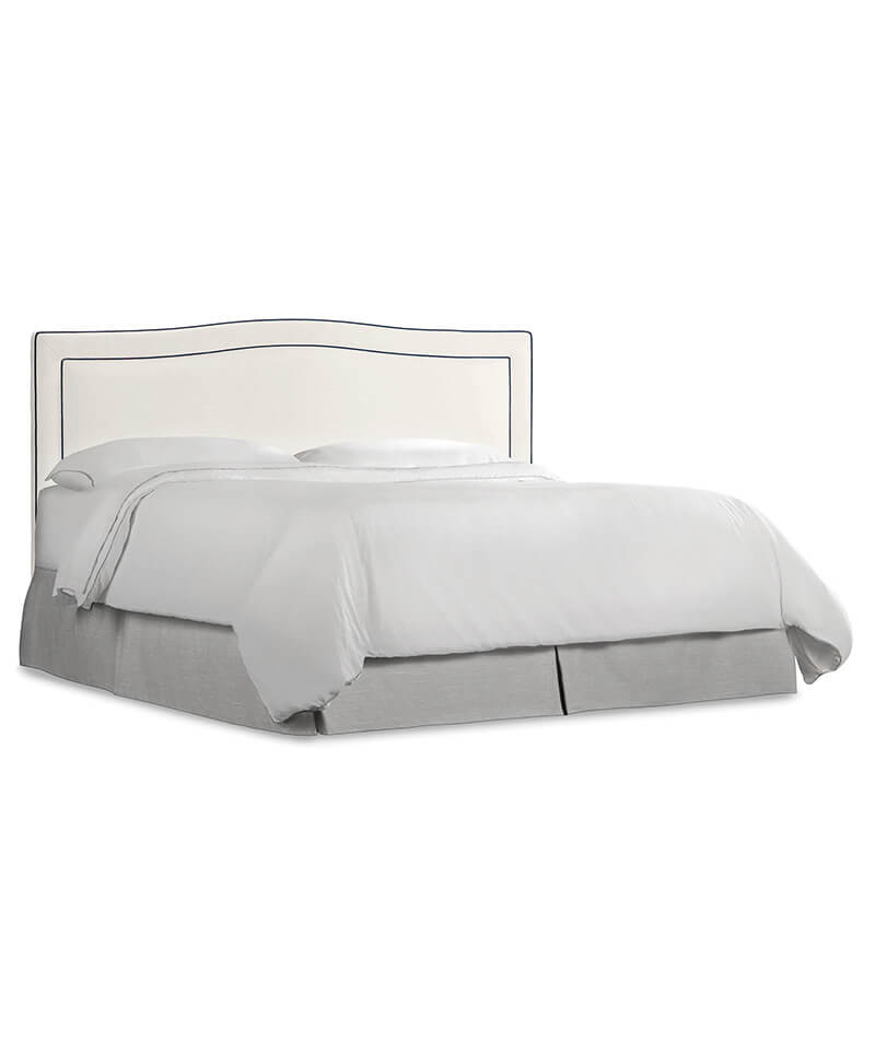 Nest Theory Willow 64in Queen 5/0 Upholstered Headboard