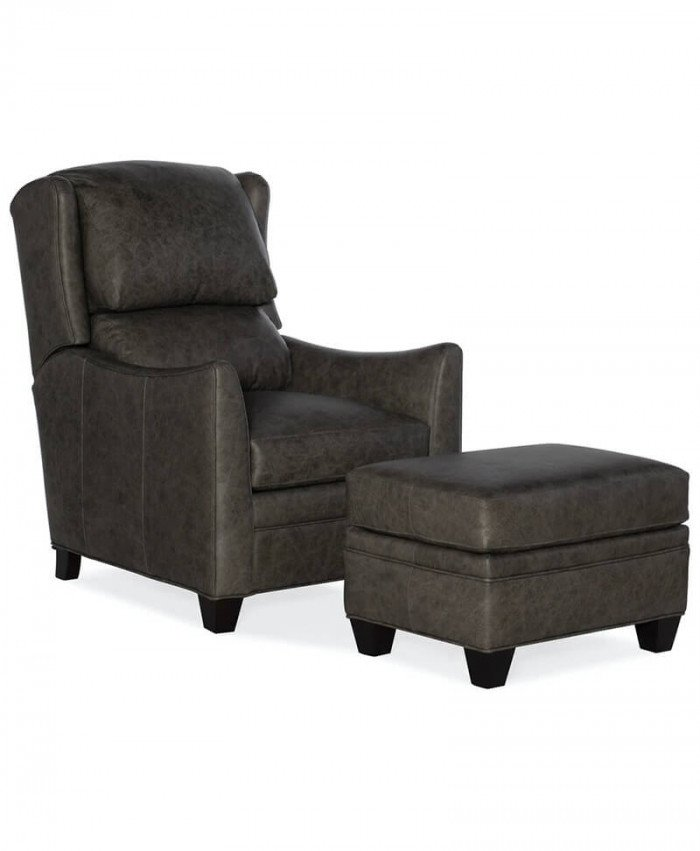 Hemsworth Tilt Back Chair and Ottoman