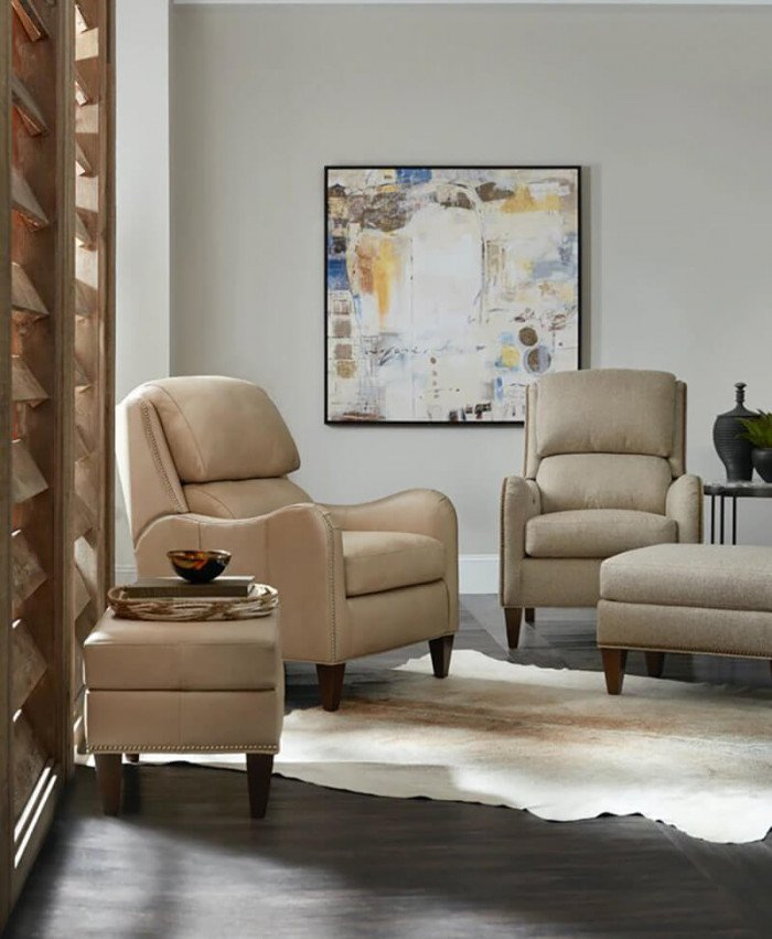 Henley Chair and Ottoman
