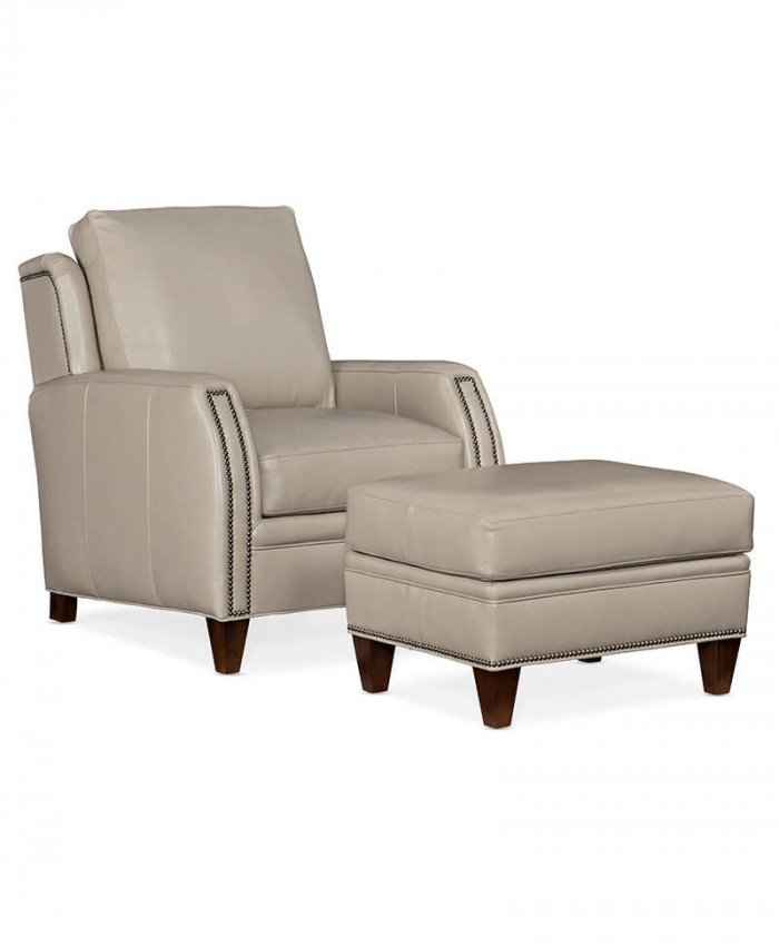 Lockhart Stationary Chair and Ottoman