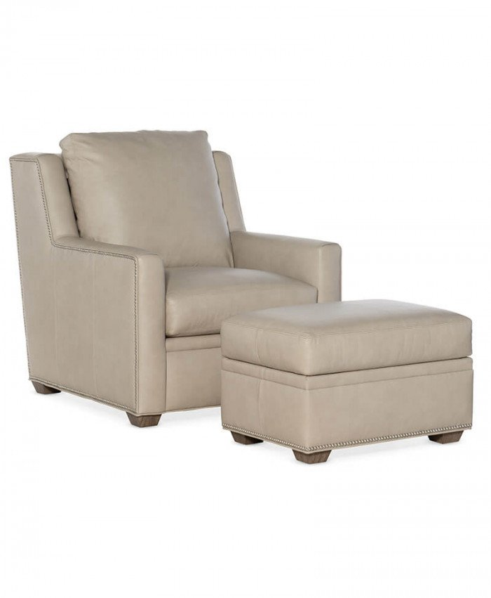 Revelin Stationary Chair and Ottoman