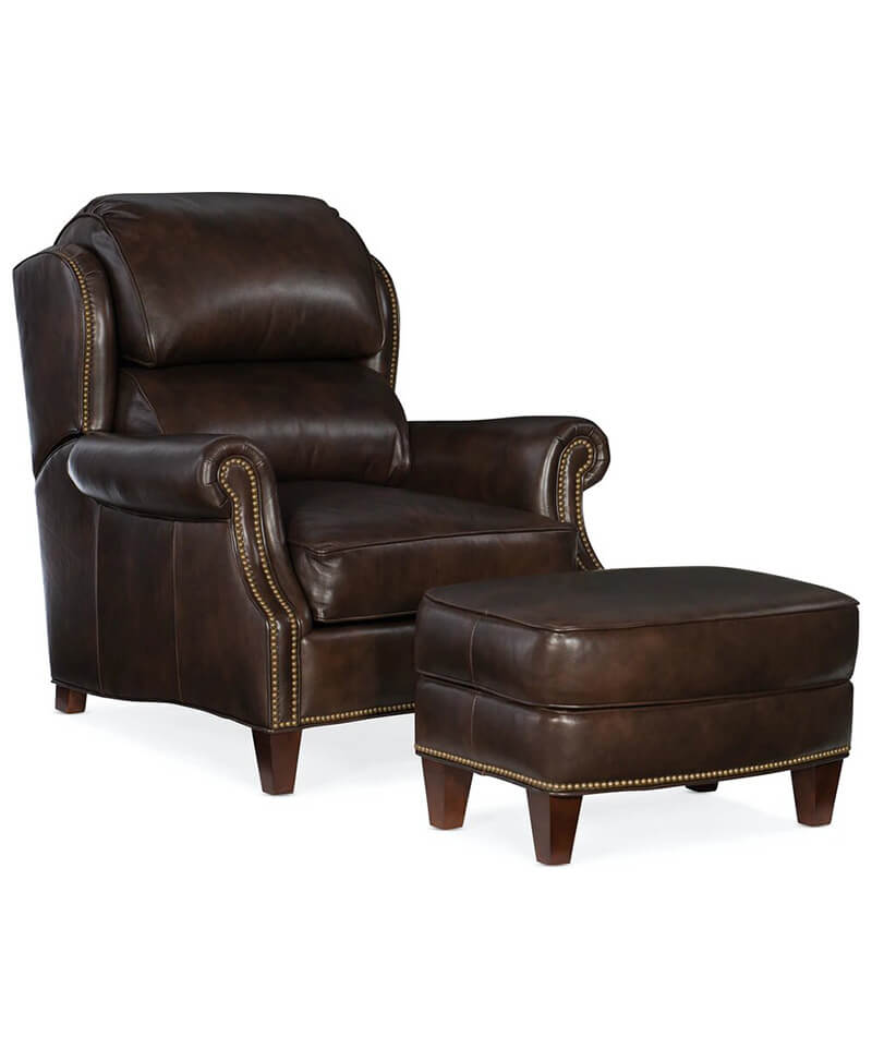 Taylor Tilt Back Chair and Ottoman