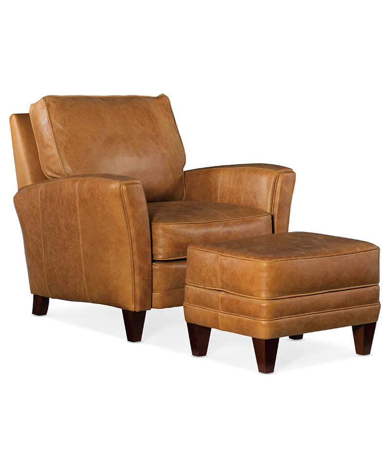 Zion Stationary Chair and Ottoman