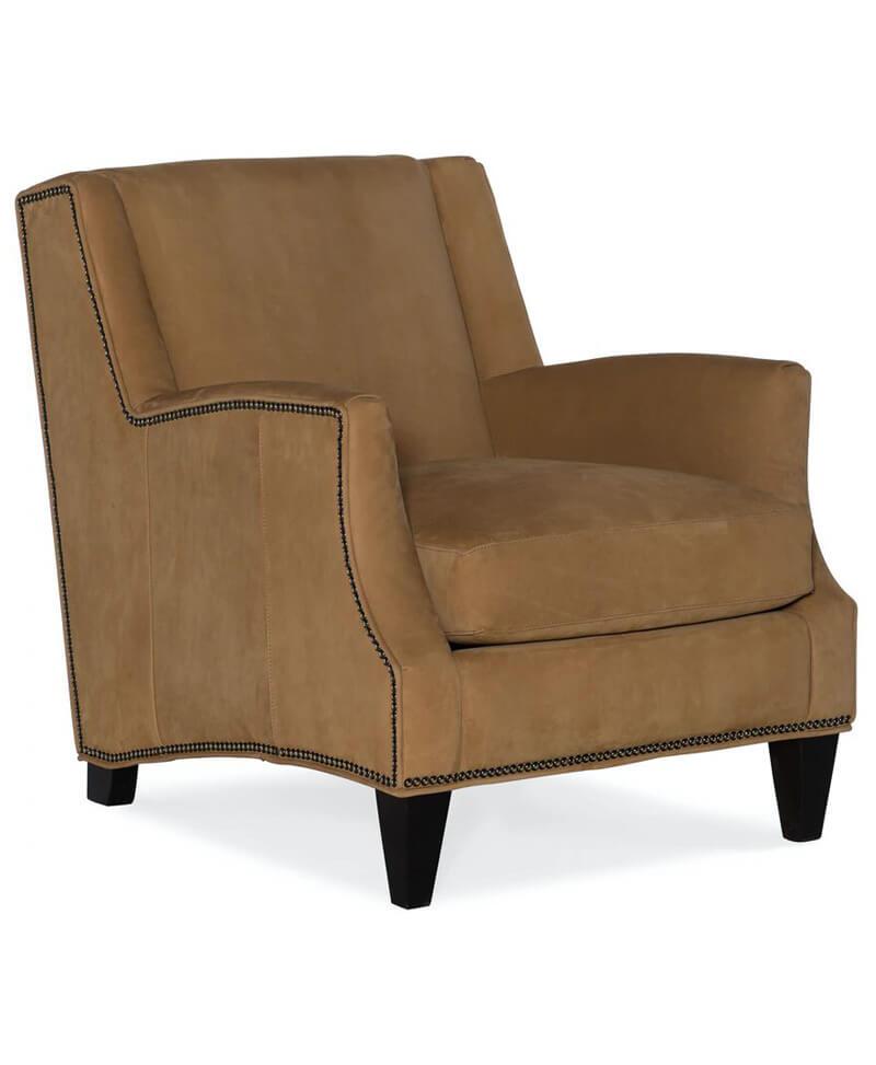 Kane Stationary Club Chair 8-Way Tie
