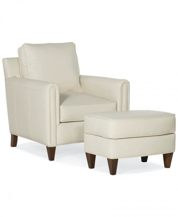 Weiss Stationary Chair and Ottoman