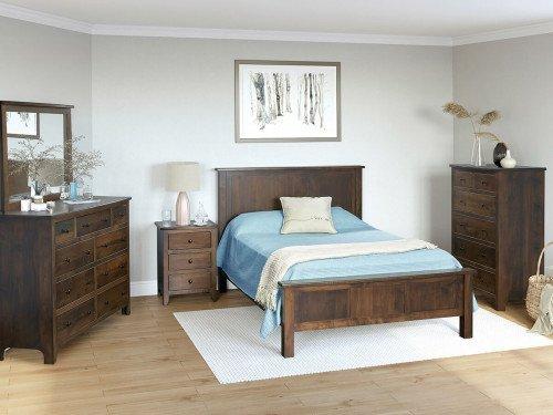 Classic Shaker 5pc Amish Bedroom Set