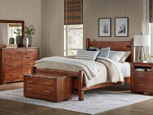 Live Wood 5pc Amish Bedroom Set