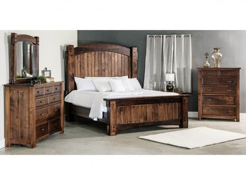 Timbra 5pc Amish Bedroom Set