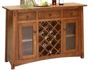 Amish Wine Server